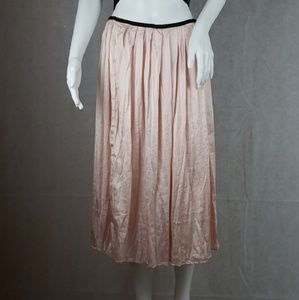 PHILOSOPHY Size 4 Pink & Black Skirt